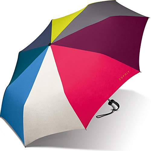 Esprit Taschenschirm Easymatic 3 - Multicolor Combination