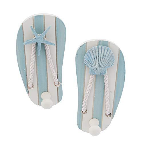 """Beachcombers SS-BCS-00541 2/A Sandal Hooks, 5.5"""" x 3"""" x 1.75"""""""