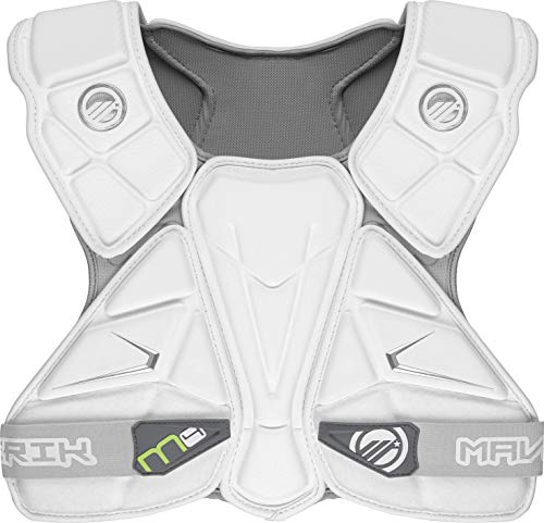 Maverik Lacrosse M4 Speed Pad, White, Medium