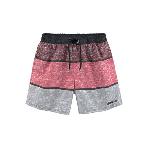 Bench Badeshort S Bordeaux-Grey