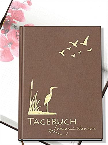 Das LUCA TAGEBUCH mit Lebensweisheiten für jeden Tag: Das etwas andere Tagebuch mit Aquarellen und schönen Sprüchen zum Nachdenken
