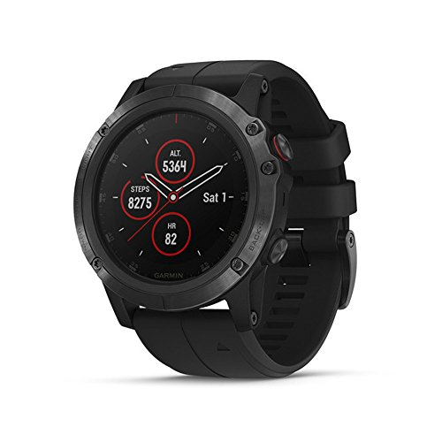 Best Review Of Garmin Fenix 5 Plus, Premium Multisport GPS Smartwatch, Features Color TOPO Maps, Hea...