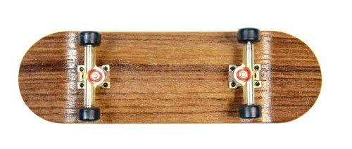 Edelfinger monopatín wenge GO // madera real sez juntas del sur hecho a mano de madera del diapasón