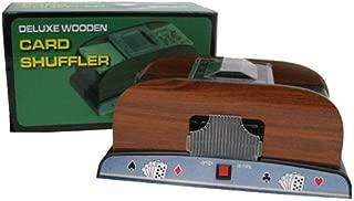 trademark wooden card shuffler