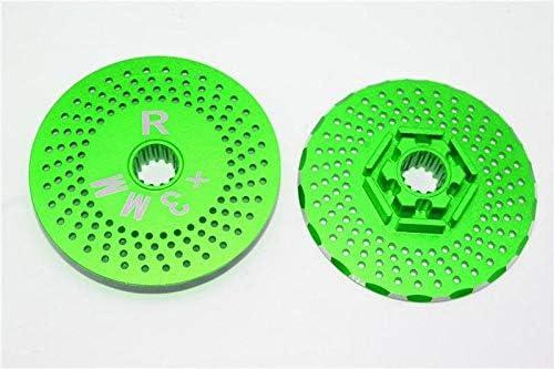 for Traxxas ランキングTOP5 X Maxx 4X4 Upgrade 迅速な対応で商品をお届け致します Rear Cla Aluminum Wheel Hex Parts