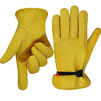 Gardening Glove with tape Wrist Closure