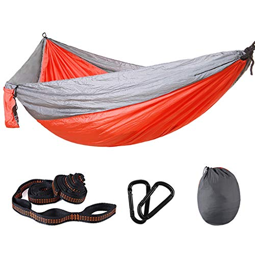 Saladplates-LXM Hammock Hammock-Lightweight Nylon Portable Hanging Chair,Best Parachute Outdoor Hammock for Backpacking,Camping,Travel,Beach,Yard Camping Hammocks (Size : 300x200cm)