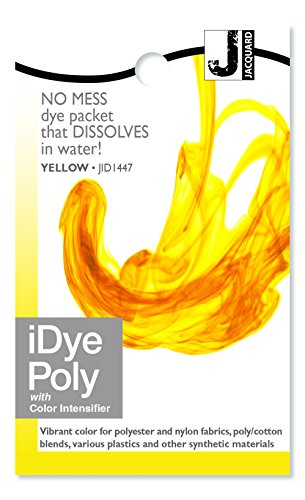 Stoff Farbstoff f/ür Polyester und Nylon Verschiedenen Farben Erh/ältlich - Orange Jacquard iDye Poly