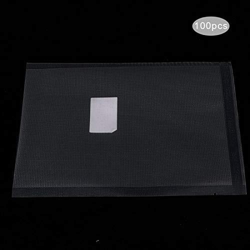 Omabeta Einzelbeutel Verpackung 100 Stück Good Sealing Food Aufbewahrungstasche für Restaurant(20 * 25cm Thick Thick dot)