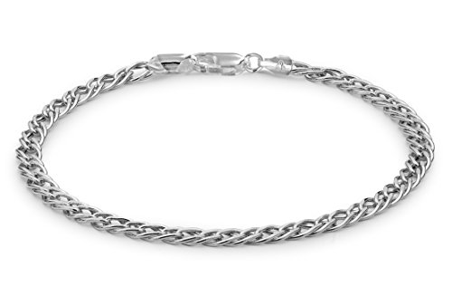 Tuscany Silver Damen - Armband Sterling-Silber 925 Rundschliff Diamant 8.20.4532
