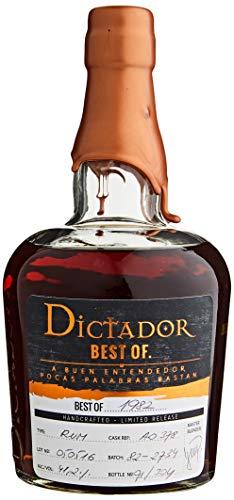 Dictador Meilleur de 1982 Extremo Liberation Limitée Rhum 0.7 L