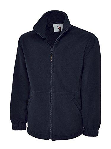 Uneek, Micro-Fleece-Jacke mit Reißverschluss für Herren, 380g/m² Gr. L / 106,68-111,76 cm, navy
