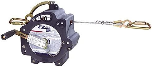 DBI/SALA 7605060 Galvanized Cable EZ-Line Retractable Horizontal Lifeline System, 1/4