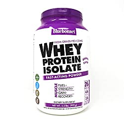 cheap Blue Bonnet Nutrition Whey Protein Isolate Powder, Glass Whey Whey, 26 grams of Protein, …