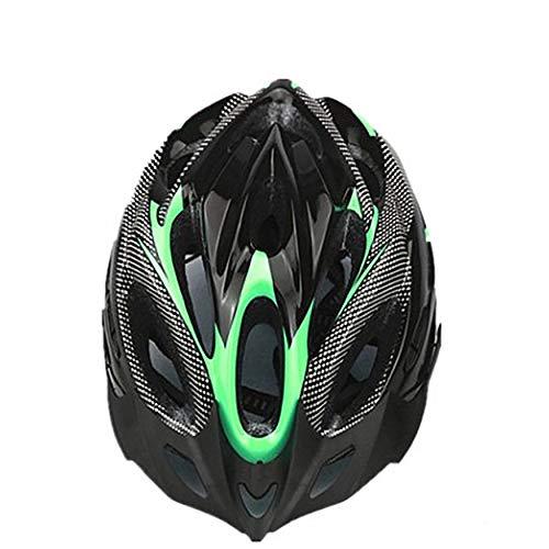 shizhongminghe-ES Casco de Bicicleta de montaña Casco de montaña Hueco Transpirable Casquillo...