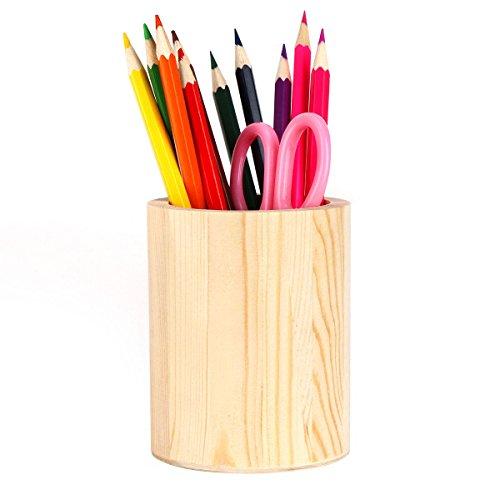 Pen Holder Solid Wood Desk Pen Pencil Holder Stand Multi Purpose Use Pencil Cup Pot De Wood Desk Pen Pencil Holder Stand Multi Purpose Use Pencil Cup Pot Desk Organizersk Organizer wood