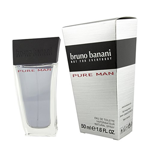 bruno banani Pure Man Eau de Toilette Natural Spray, 50 ml