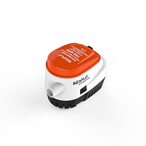 Seaflo 12V Automatische Tauchpumpe Bilge Wasser Pumpe 750GPH Auto mit Schwimmerschalter für Boot Marine Wohnmobil-Boote