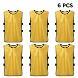 Lixada 6 PCS Training Vests,Football...