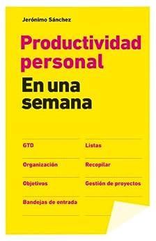Productividad personal en una semana de [Jerónimo Sánchez]