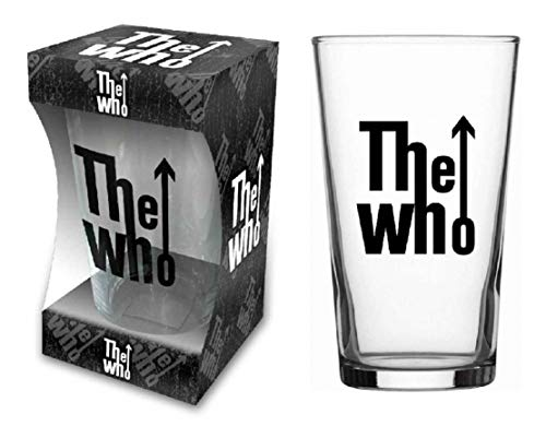 The Who Glas Target logo bierglas longdrink glas XL drinkglas pint glas