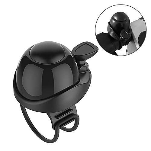 Lixada Scooter Warning Bell Loud Alertting Scooter Horn Skateboard Accesorio Compatible with Xiaomi Mijia M365 Scooter Eléctrico