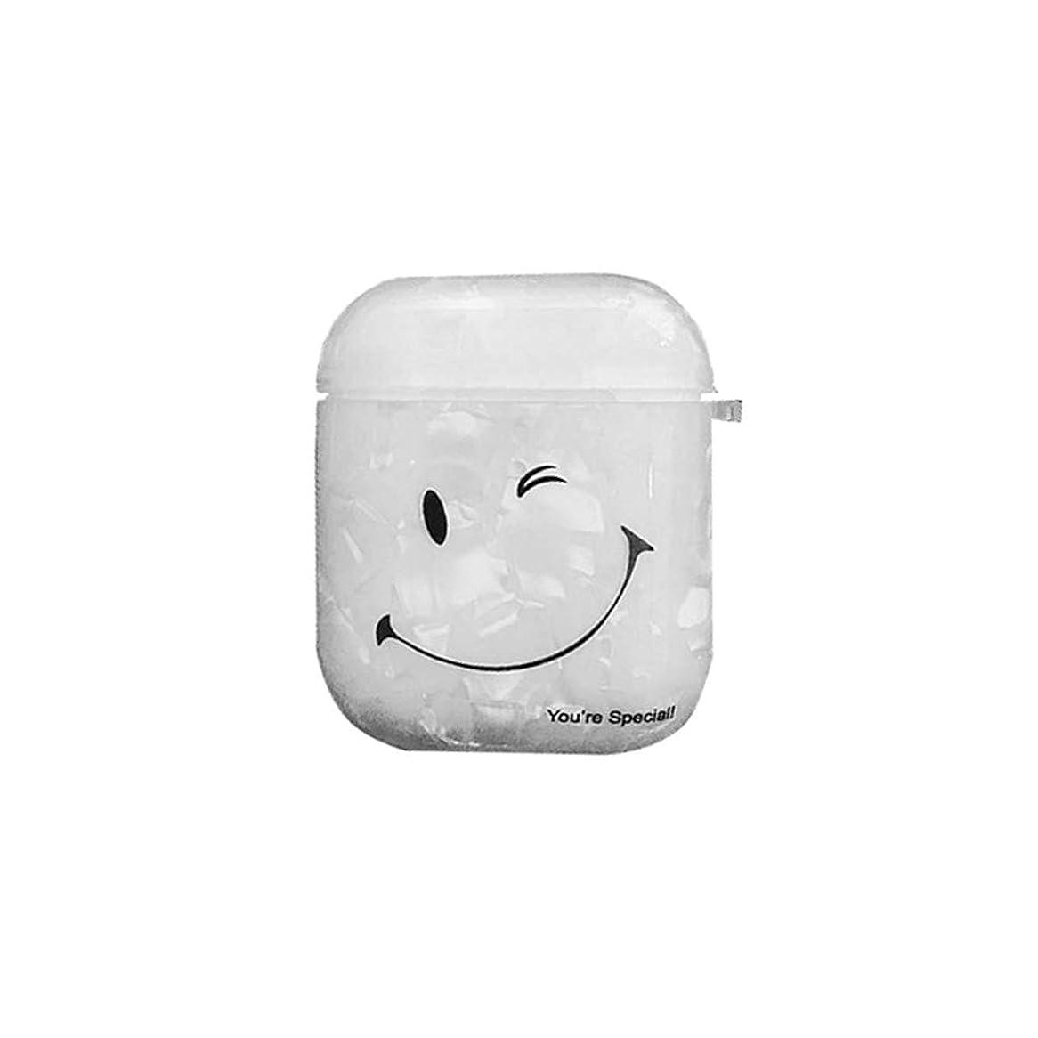 解凍する、雪解け、霜解け傾向がありますカストディアンAirpodsf保護カバー phoneワイヤレスイヤホンケース phone用シリコンケース シリコン製収納ケース おしゃれ 充電可能 カラビナ付き (イエロー)