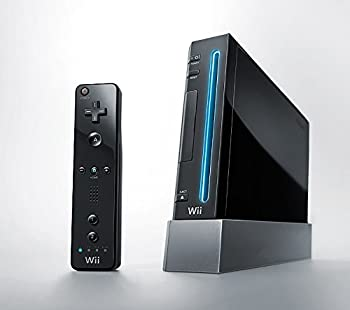 Nintendo Wii Console  Black  -  Renewed