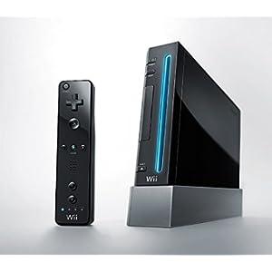 Nintendo Wii Console (Black) - (Renewed)
