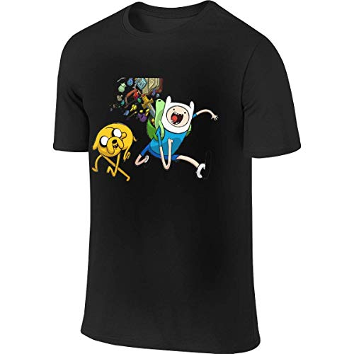 Sportbekleidung Herren Kurzarmshirt Tskention Adventure Time with Finn and Jake...