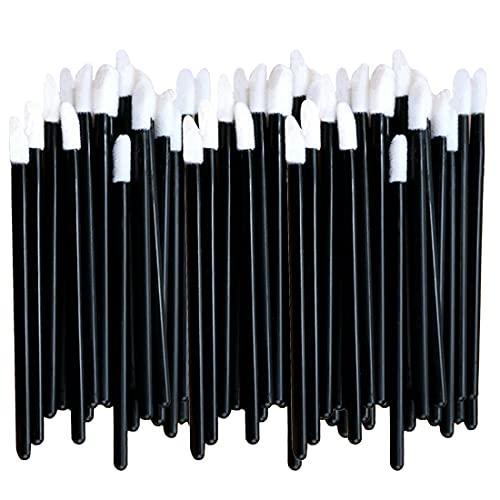 Lot de 200 pinceaux jetables pour gloss à lèvres Noir