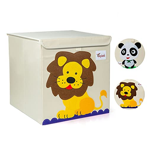 Caja Juguetes Almacenaje, GuKKK Cajas de Almacenaje, Plegable Kids Toy Chest,...
