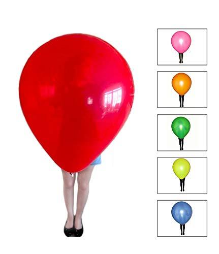 Riesen-Luftballons XXL bunt - Umfang ca. 260cm !!! - Qualitätsware für Geburtstag, Hochzeit, Party, Festival (6)