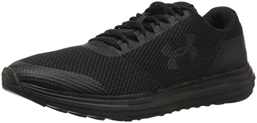Under Armour Women's Surge Running Shoe, Black (003)/Black, 6.5