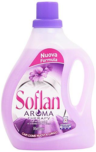 Soflan - Aroma Therapy, Detersivo per lana e delicati - 1000 ml