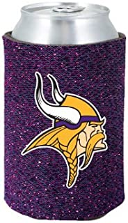 NFL 2012 Football Team Logo Womens Ladies Glitter Beer Can Holder Cooler - All 32 Teams Avaialble!