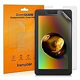 kwmobile 2X Protector de Pantalla Compatible con Lenovo Tab E7 (7') - Salvapantallas Mate para Tablet - Lámina Protectora