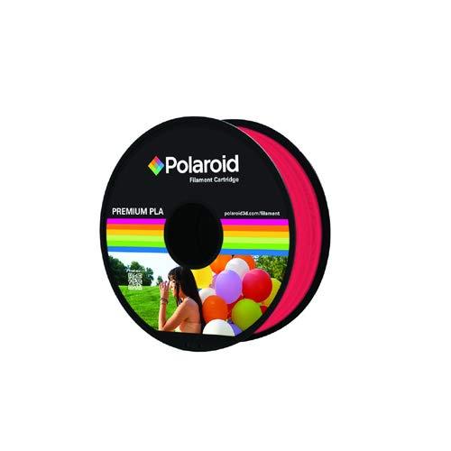Polaroid 3D 1kg Universal Premium PLA-filament materiaal transparant rood