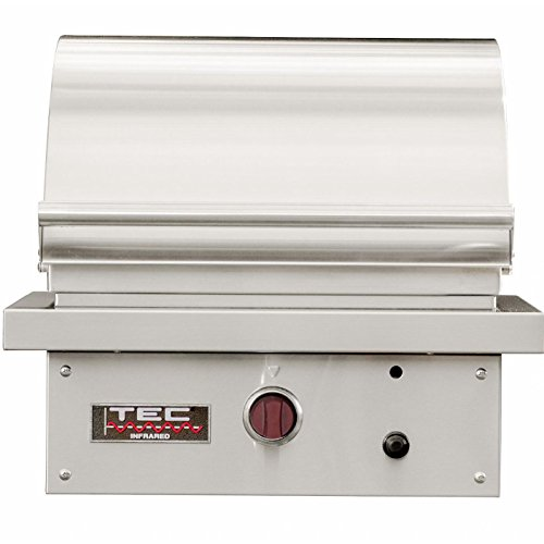 Tec Sterling Patio Fr 26-inch Built-in Infrared Propane Gas Grill W/ Red Knobs