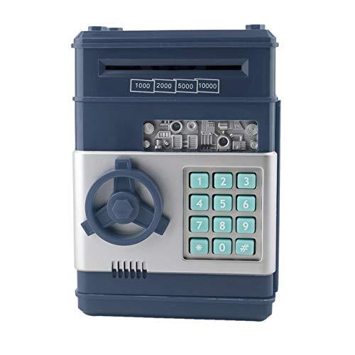 Caja de seguridad de dinero electrónico para niños de 7 colores, caja de ahorro de contraseña, cajero automático para monedas y billetes, sistema de caja de llave con código, caja de ahorro de dinero