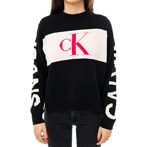 Calvin Klein Jeans Dames Statement Logo Sweater Pullover