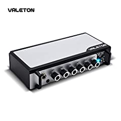 Pure Analog Preamp Design with Super Wide Tonal Range from Motown Era Vintage P-Bass Low Mid Thing to Modern Day Super Ultra Fat Low-End Stuff Max. 20W Pure Solid State Output Power sounds and responses like Vacuum Tubes Amp with Rich and Harmonic To...