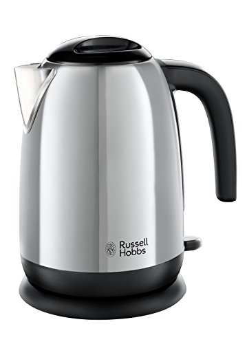 Russell Hobbs 23911 Adventure Polished Stainless Steel Electric Kettle Open Handle,...