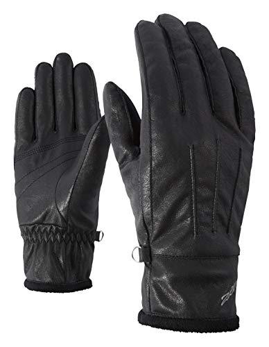 Ziener Damen ISALA LADY glove multisport Funktions- / Freizeit-handschuhe, black, 7,5