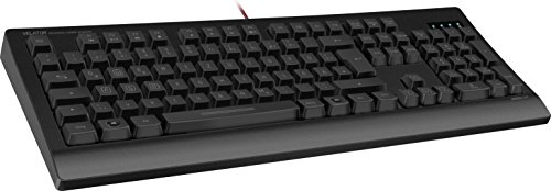 Speedlink VELATOR - mechanische Gamer-Tastatur - USB-Keyboard in deutschem Layout - konfigurierbare Tasten - schwarz