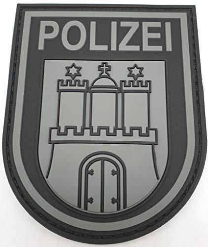 Polizeimemesshop Hamburg Patch Black Ops RUbberpatch mit Klett