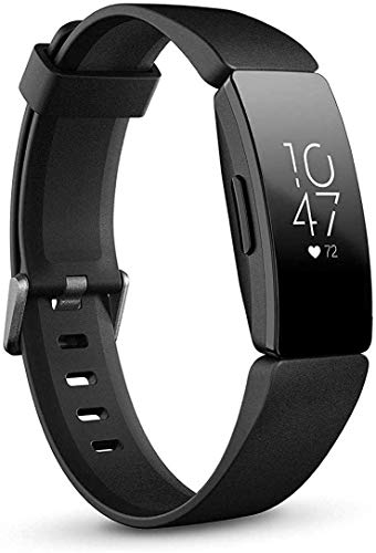 Fitbit Inspire HR Heart Rate & Fitness Tracker, One Size - S & L Bands Included (International Version)