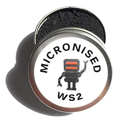 Hagen Automation Micronised WS2 10ml - Tungsten Disulphide - poeder smeermiddel/additief voor motor rebuilds, robots, 3D printers, fietsen etc voor ULTRA lage wrijving