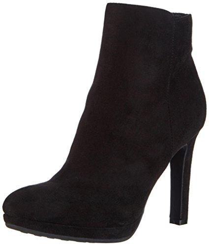 Buffalo Shoes Damen Y436-51B P1804A IMI Suede Kurzschaft Stiefel, Schwarz (Black 01), 38 EU