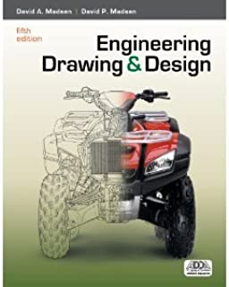 Engineering Drawing and Design 5th (Fifth) Edition byMadsen